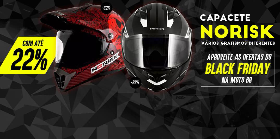 Black Friday Capacete Norisk