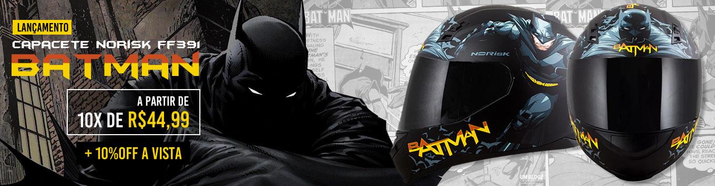 Capacete Norisk FF391 Batman