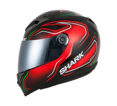 Capacete-Shark-S700-Replica-Guintolli-KRG-Preto-Vermelho-Verde