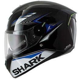 Capacete-Shark-Skwal-Matador-KBS-Preto-Cinza-Azul-com-Viseira-Solar-e-Led