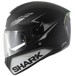 Capacete-Shark-Skwal-Matador-Matt-KSW-Preto-Cinza-Fosco-com-Viseira-Solar-e-Led