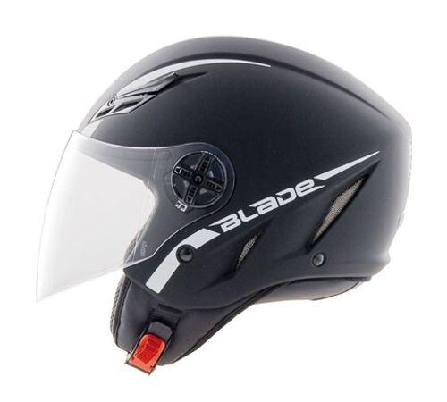 Capacete-AGV-Blade-Mono-Black-Flat-Preto-Fosco