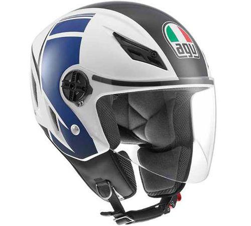 Capacete-AGV-Blade-Fx-Branco-Azul