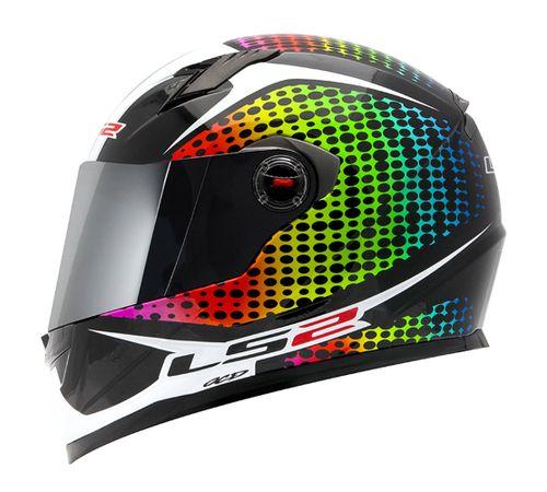 Capacete-LS2-FF358-Wardots-Rainbow