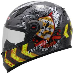 Capacete-LS2-FF358-Justice-Gloss-Anthracite