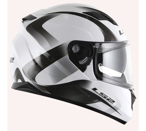 Capacete-LS2-FF320-Velvet-com-Viseira-Solar-Branco-Preto