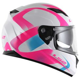 Capacete-LS2-FF320-Velvet-com-Viseira-Solar-Branco-Pink