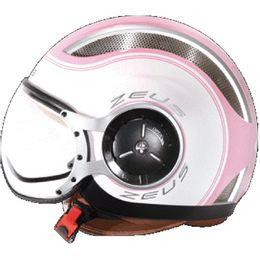 Capacete-Zeus-218-SS6-Rosa-Branco