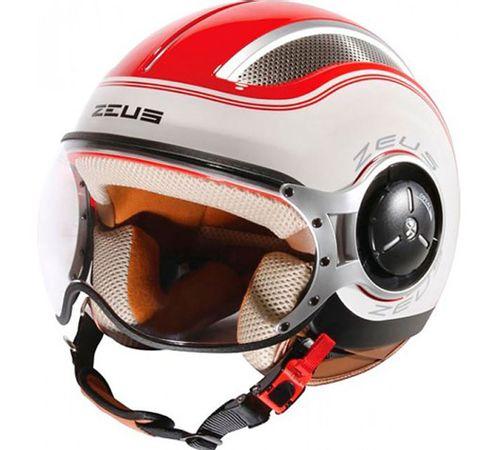 Capacete-Zeus-218-SS6-Vermelho-Branco