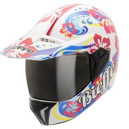 Capacete-Bieffe-3-Sport-Hawaii-Branco-Color
