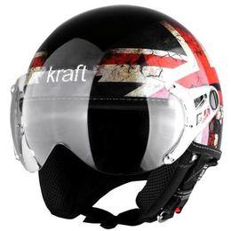 Capacete-Kraft-Inglaterra-Preto-Fosco