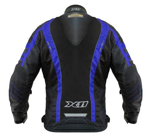 Jaqueta X11 Next Preta Azul - MOTO BR 46d1c1f6d6340