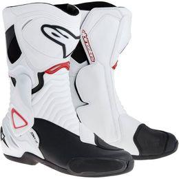 Bota-Alpinestars-S-MX-6-Branco-Preto-Vermelho