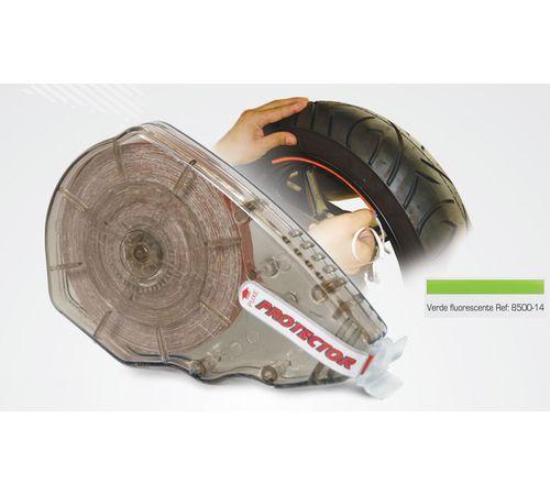 Friso-Refletivo-para-Roda-Verde-Fluorescente-8500-14---Protector