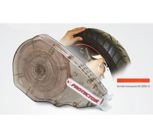 Friso-Refletivo-para-Roda-Vermelho-Fluorescente-8500-12---Protector
