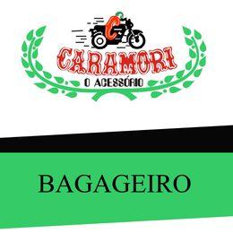 Bagageiro-Titan-150---Fan-2014-com-Alca-Cromado---Caramori