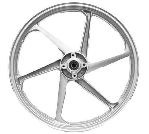 Roda-Scud-de-Magnesio-6-pontas-para-Biz125KS--Par----Prata