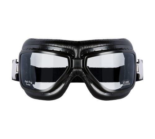 2ce7db2b1331a Óculos Goggles SKY Preto Vintage - MOTO BR