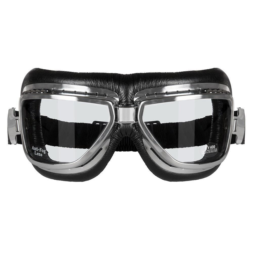 eb9c60ffde0f8 Óculos Goggles SKY Cromado Vintage - MOTO BR