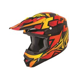 Capacete-Fly-Kinetic-Block-Out-Laranja-Preto