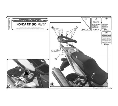 Monorack-Especifico-259FZ-para-Honda-CB1300-2007-2009---Givi