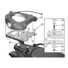 Base-Especifica-Monolock-SR3101M-DL650-2012-em-Diante-para-Bau---Givi