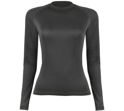 Blusa-Segunda-Pele-T-Shirt-ThermoSkin-ML-Feminina--Preta---Curtlo