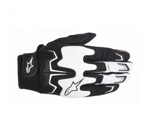 Luva-Alpinestars-Fighter-Air-Preto-Branco