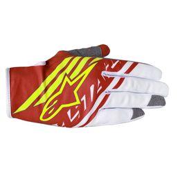 Luva-Alpinestars-Racer-Supermatic-15-Vermelho-Amarelo-Branco