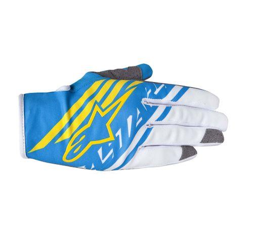 Luva-Alpinestars-Racer-Supermatic-15-Azul-Branco-Amarelo