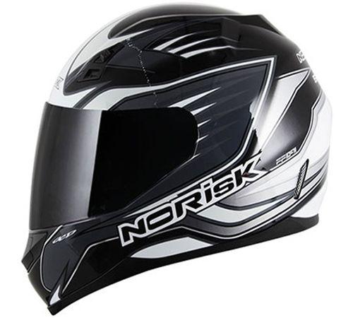 Capacete-Norisk-FF391-Speed-Branco-Cinza