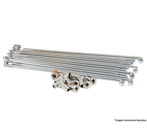 Jogo-de-Raio-NXR-150-Bros-ES-Dianteiro-Cromado---DDL-Raio