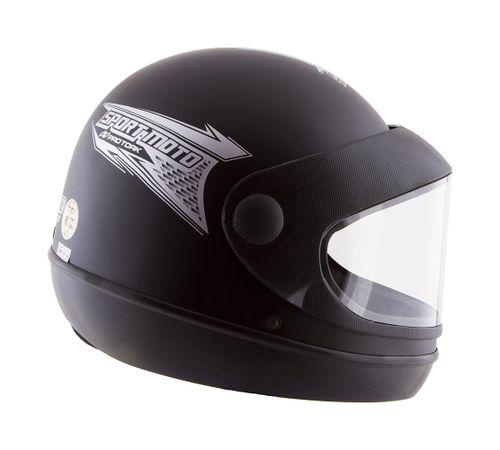 Capacete-Sport-Moto-Preto-Fosco