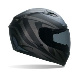 Capacete-Bell-Qualifier-DLX-Impulse-Matt-Black-Preto-Fosco