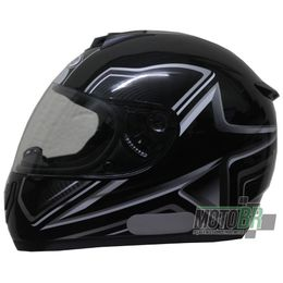 Capacete-V-21-Helmets-Preto-Numero-8-Detalhe-Cinza