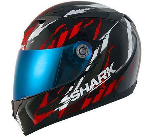 Capacete-Shark-S700-Oxyd-KRS-Preto-Vermelho-Branco