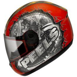 Capacete-Peels-Spike-Gear-Vermelho-Grafite