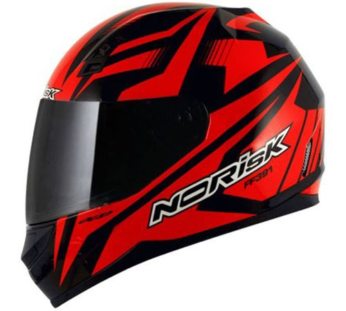 Capacete-Norisk-FF391-Slide-Preto-Vermelho