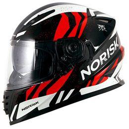 Capacete-Norisk-FF302-Jungle-Preto-Branco-Vermelho