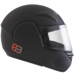 Capacete-EBF-E8-Robocop-Preto-Fosco