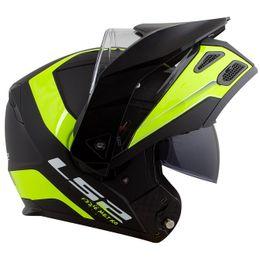 capacete-ls2-metro-evo-ff324-articulado-rapid-preto-fosco-amarelo-brilho4