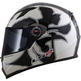 capacete-ls2-ff358-warrior-preto-branco-brilho