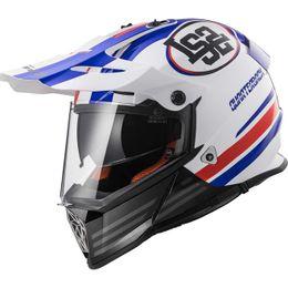 capacete-ls2-pioneer-mx436-quarterback-branco-vermelho-azul