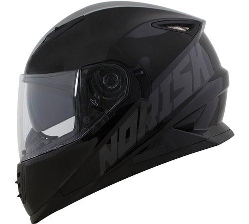capacete-norisk-ff302-stone-viseira-solar-preto-cinza-brilho