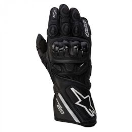 Luva-Alpinestars-GP-Plus-Leather-Preta
