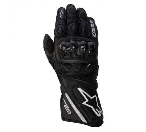 Luva-Alpinestars-GP-Plus-Leather-Preta