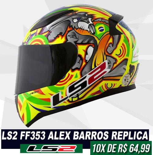 LS2 FF353 Alex Barros Replica
