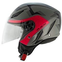 Capacete-AGV-Blade-Comodaz-Fosco-Preto-Pink-4