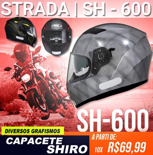 Capacete Shiro S-600 MOTO BR