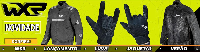 Lançamento WXR Jaqueta e Luva